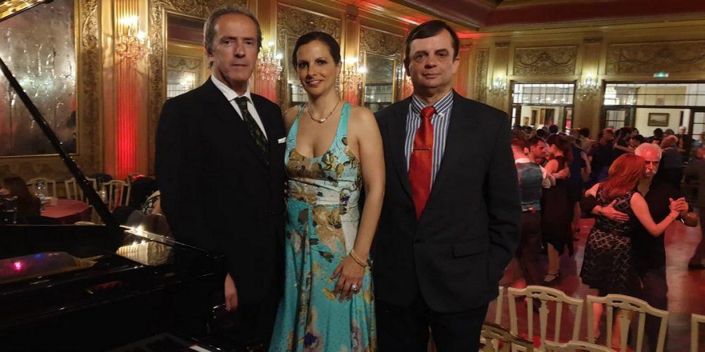 Fernando Jorge, Alexandra Baldaque y Fernando López del Amo